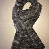 зимний мужской шарф