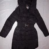пуховое пальто зимнее, размер S-M, Angel Beatow, очень теплое