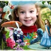 Красочный портрет Вашего малыша с героями мультфильмов)))