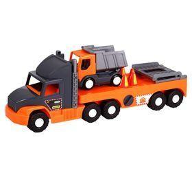 Машина Super Truck , с грузовиком, в кор.27 80 20 см, Тм Wader 36710 фото №1