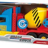 Бетономешалка мал. Super Truck , в кор. 59 28см, Тм Wader 36590