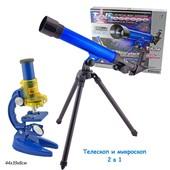 Микроскоп и телескоп. Научный набор, артикул C2109