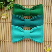 Бабочка галстук для деток. Зеленый и бирюза.