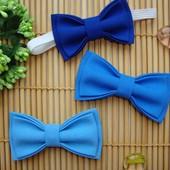 Бабочка галстук. Голубой Синий. Метелик краватка.