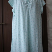 Фирменная трикотажная ночная рубашка на 54-56 размер хлопок