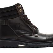 Ботинки Мужские Кожаные Зимние (044к)