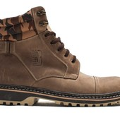Ботинки Мужские Кожаные Зимние (044ол)