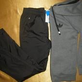 Спортивный костюм - толстовка с капюшоном Adidas и утепленные спортивные штаны - деми-зима - Nike