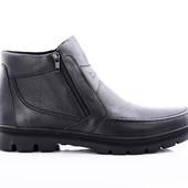 Зимние Ботинки Кожа (072ф)
