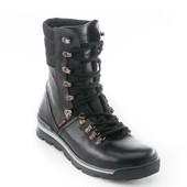 Ботинки Демисезонные Кожаные (091д)