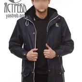 Парка куртка весенняя от Ястребь в наличии черная М и черно-синяя Л есть замеры