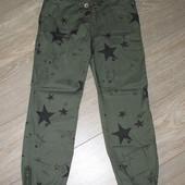 супермодные джинсы на 10 лет (140см). Фирма Некст. Новые.