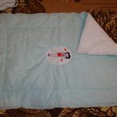 Детское одеяло для принцессы . Холофайбер.