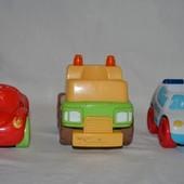 разные фирменные машинки для фигурок Happy land от ELC mothercare мазекеа