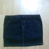 Фирменная джинсовая юбка M-L