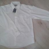 Рубашка белая мужская ,размер XXL (покупали в Германии)