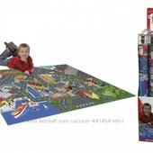 Игровой коврик Dickie Toys Город с машинкой и дорожными знаками
