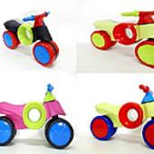 Мотобайк -велобег - мотоцикл беговел пластиковый