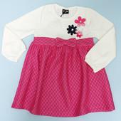 Останні розміри чудових тепленьких платтячок для дівчаток