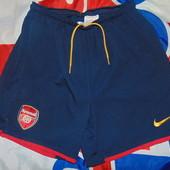 Фирменние оргинальние спортивние шорти футбол Nike Ф.к Арсенал.с.м-л