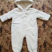 Теплый комбинезон, человечек Baby 0-3 месяца