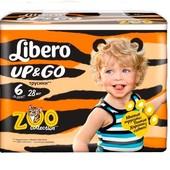 Подгузники-трусики Libero р. 6, на 13 - 26 кг.