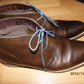 (№і177 )фирменные кожаные ботинки  42 р UK 8 Next