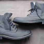 Max shoes (46, 29,5 см) зимние кожаные ботинки мужские