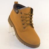 Ботинки зимние Т62кэмел