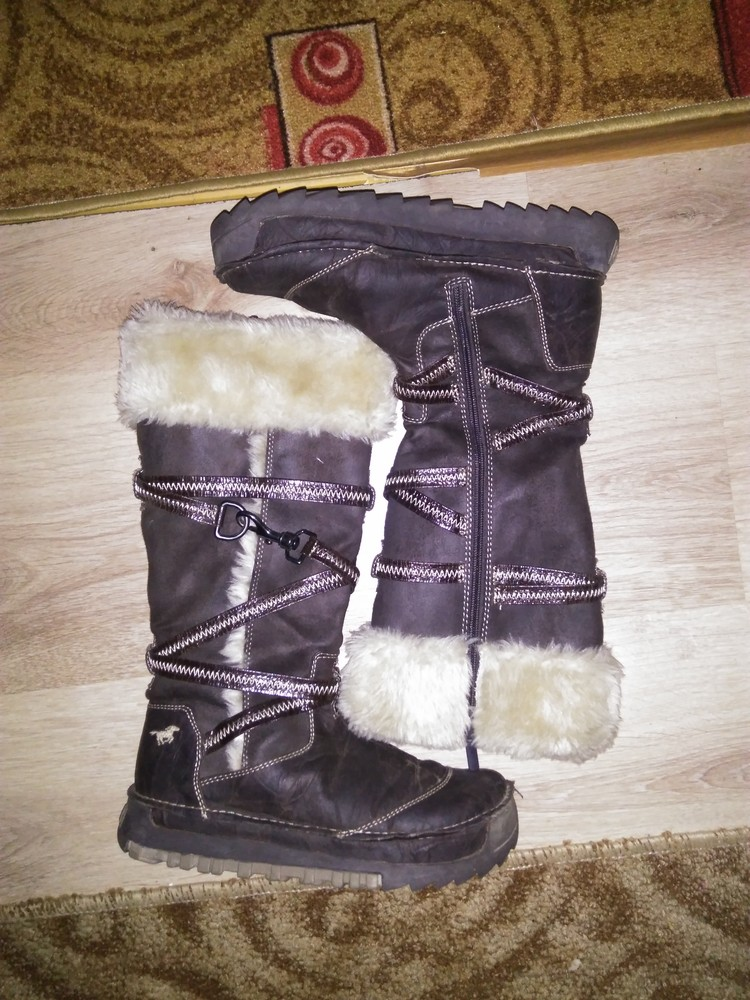 Зимние сапоги ботинки 39 р стелька 25.5 см фото №1