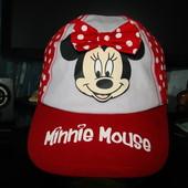 Кепка Disney Minne 52-54 3-10 лет как новая 100% коттон