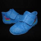 Тапочки войлочные Impidimpi 28р-р,по стельке 18 см.Мега выбор обуви и одежды