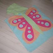 полотенце-пончо для девочки