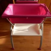 Ванночка з пеленальним столиком, Ванночка с пеленальным столиком Brevi (Італія)