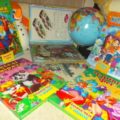Шикарный подарок ребенку!Большие А4 качественныея яркие книги-пазлов! Огрооооомный выбор!
