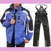 Мужская лыжная куртка-трансформер в состоянии новой, р. 54-56