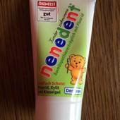 Лучшая детская зубная паста Nenedent (из Германии). Хорошая Цена
