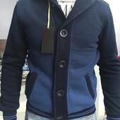 Мужская кофта стильная синяя, скоро в наличии Бронируем