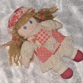 Бронь Винтажная большая мягкая кукла berkertex (Англия)