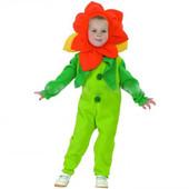 Карнавальный костюм Цветочек в пакете (р.80-92/92-104)