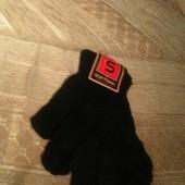 Перчатки черные на подростков мальчик /девушка (новые)