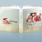 Фотокнига Шаблон №20  Рождество
