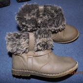 (№і179)фирменные зимние сапожки 24 р Zara baby