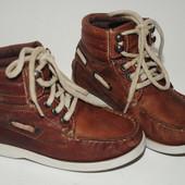 Бронь Кожаные ботинки фирма River Island  размер 27