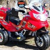 Детский электромобиль T-722 Red мотоцикл