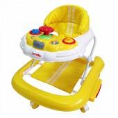 Детские ходунки Carrello CRL-9601 машинка желтый