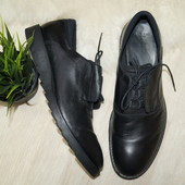 (44р.) Zara Man! Кожа! Крутые туфли
