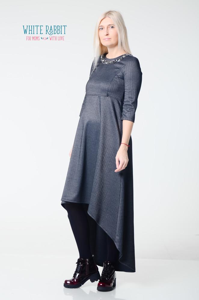 8ba54f06588c Скидка -20% красивое ассиметричное платье для беременных и кормящих мам  фото №1