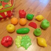 игрушечные пластиковые продукты