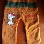 Вельветовые штаны Hello Kitty